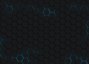 Floral Hexagon Wallpaper
