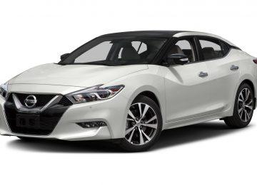 White Nissan Maxima 2017