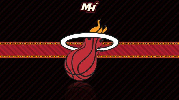 3D Miami Heat Wallpaper