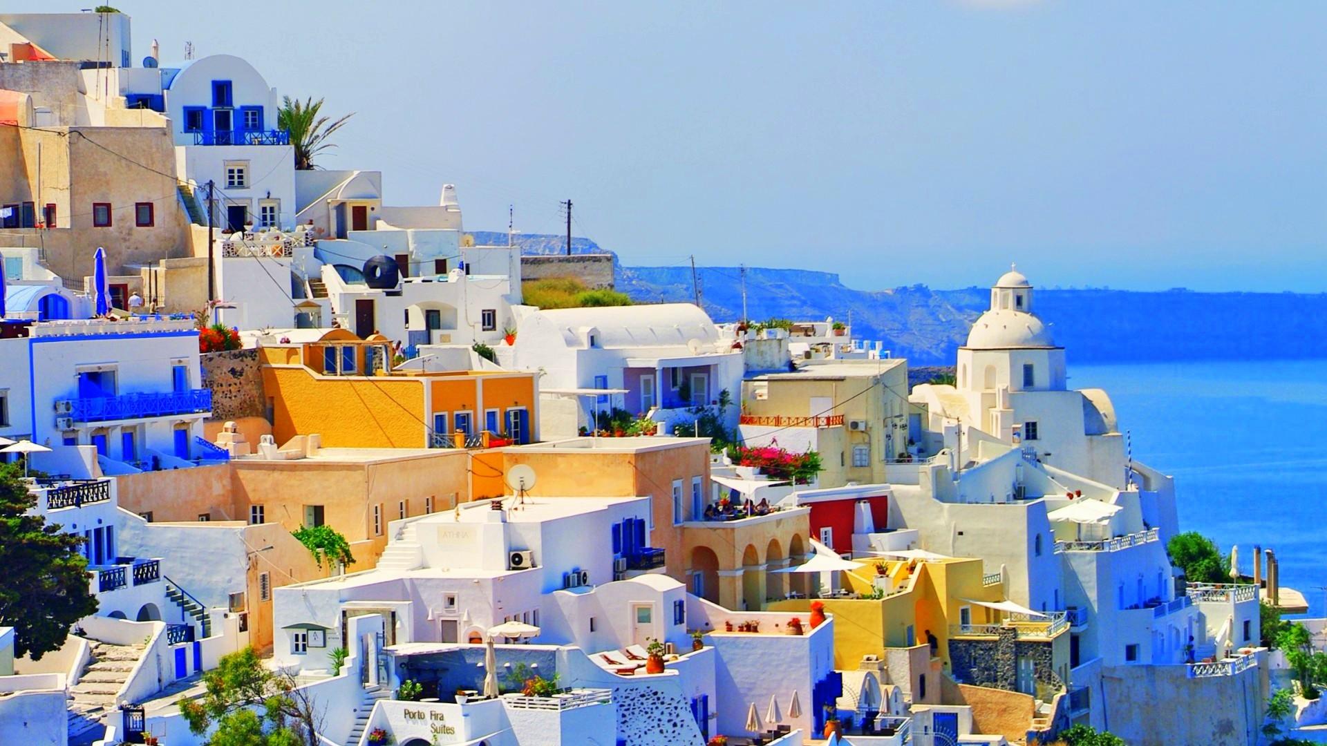 Beautiful Greece Wallpaper