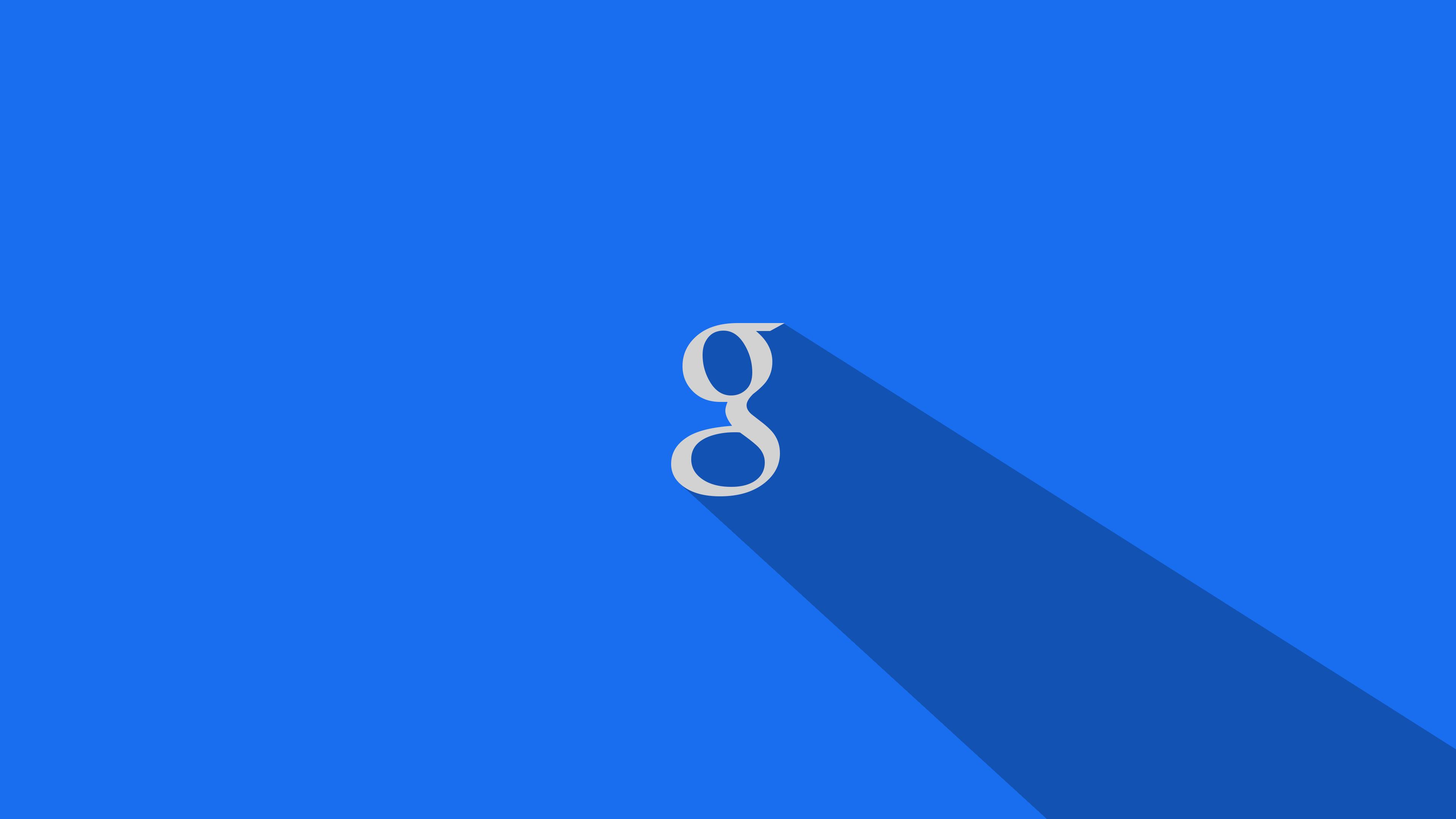 Blue Google Wallpaper