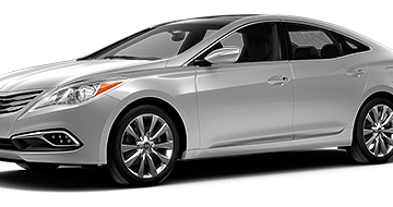 Grey Hyundai Azera