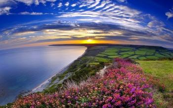 Nice Coastline Wallpaper