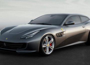 Grey Ferrari FF