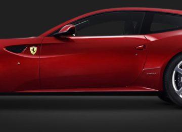 Red Ferrari FF