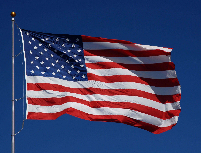 Top USA Flag