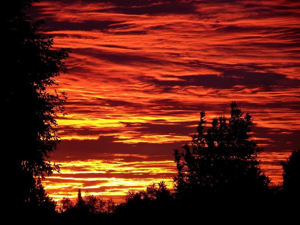 Cute Autumn Sunset