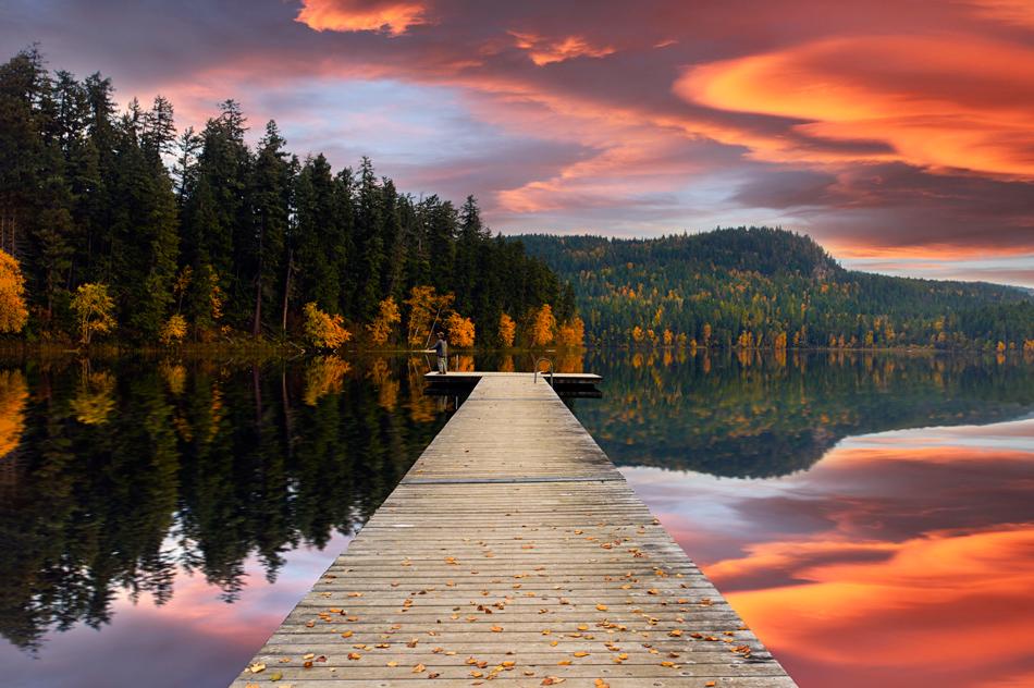 Free Autumn Sunset