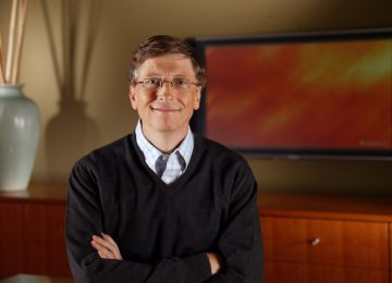 Beautiful Bill Gates Smile Wallpaper