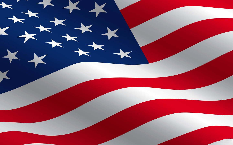 Colorful USA Flag Wallpaper