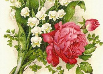 Landscape Vintage Flower