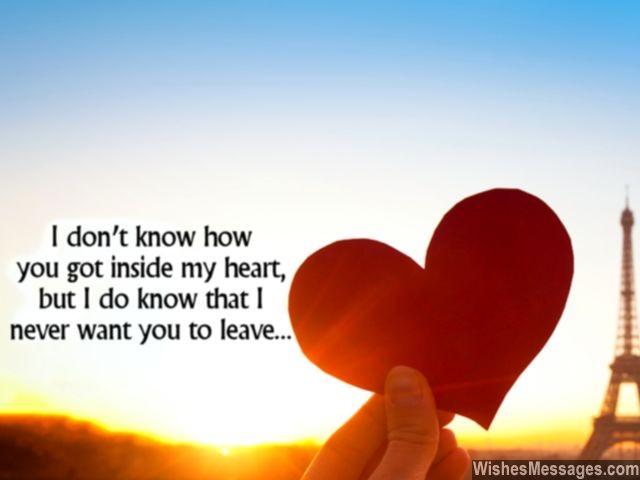 Nice Love Message