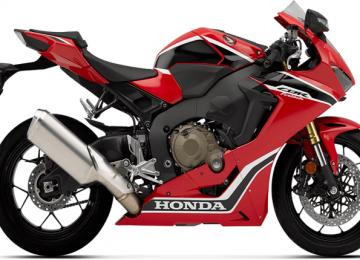 Red Honda CBR