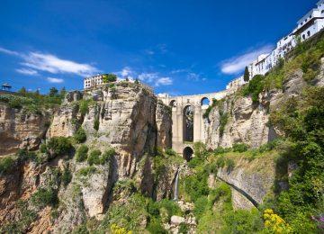 Landscape Ronda Andalusia Spain