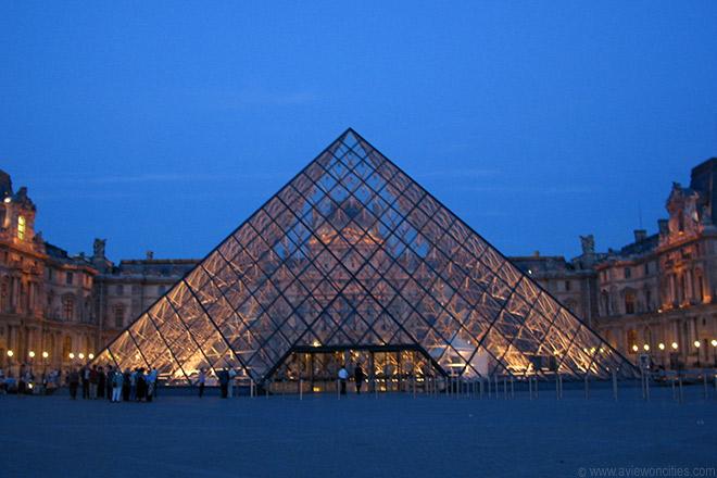Nice Louvre Pyramid