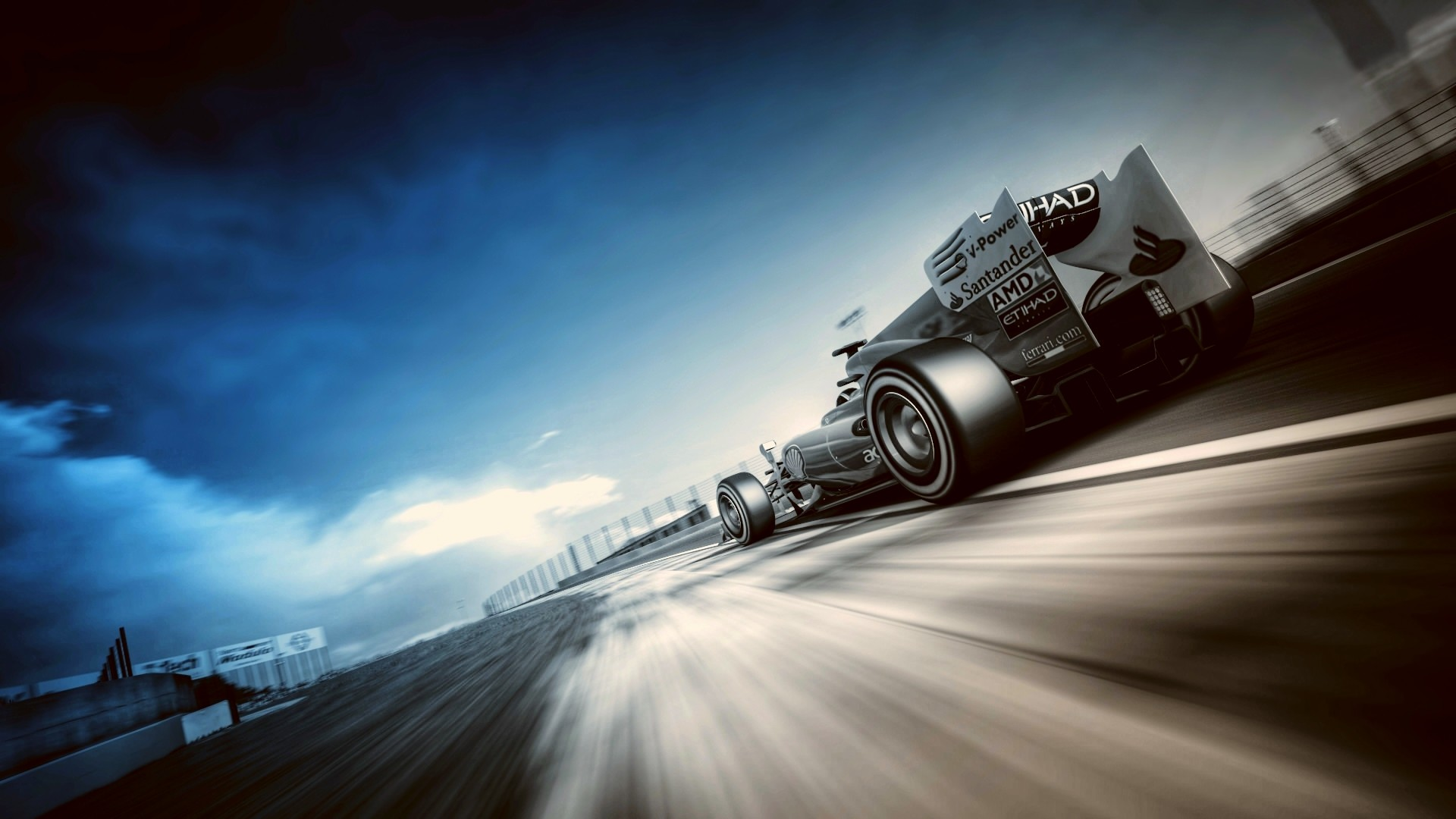 Beautiful Racing Wallpaper
