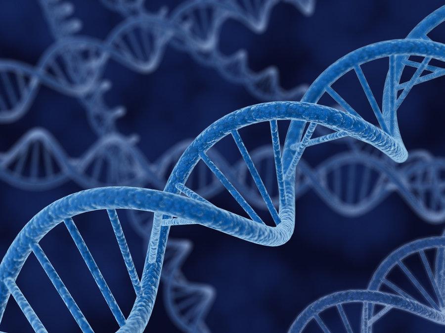 Blue Genetic Image