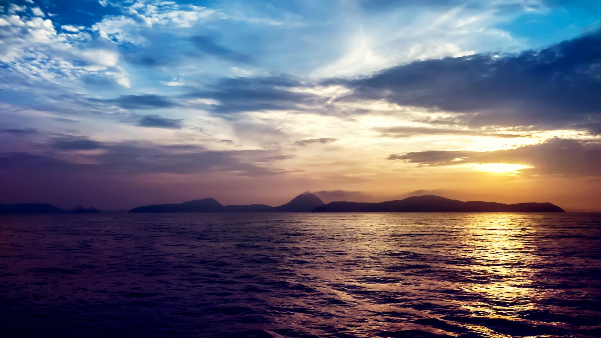 Widescreen Sea Wallpaper