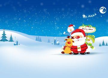 Snowman Xmas Wallpaper