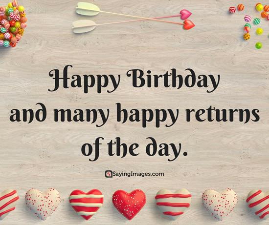Cute Happy Birthday Quotes