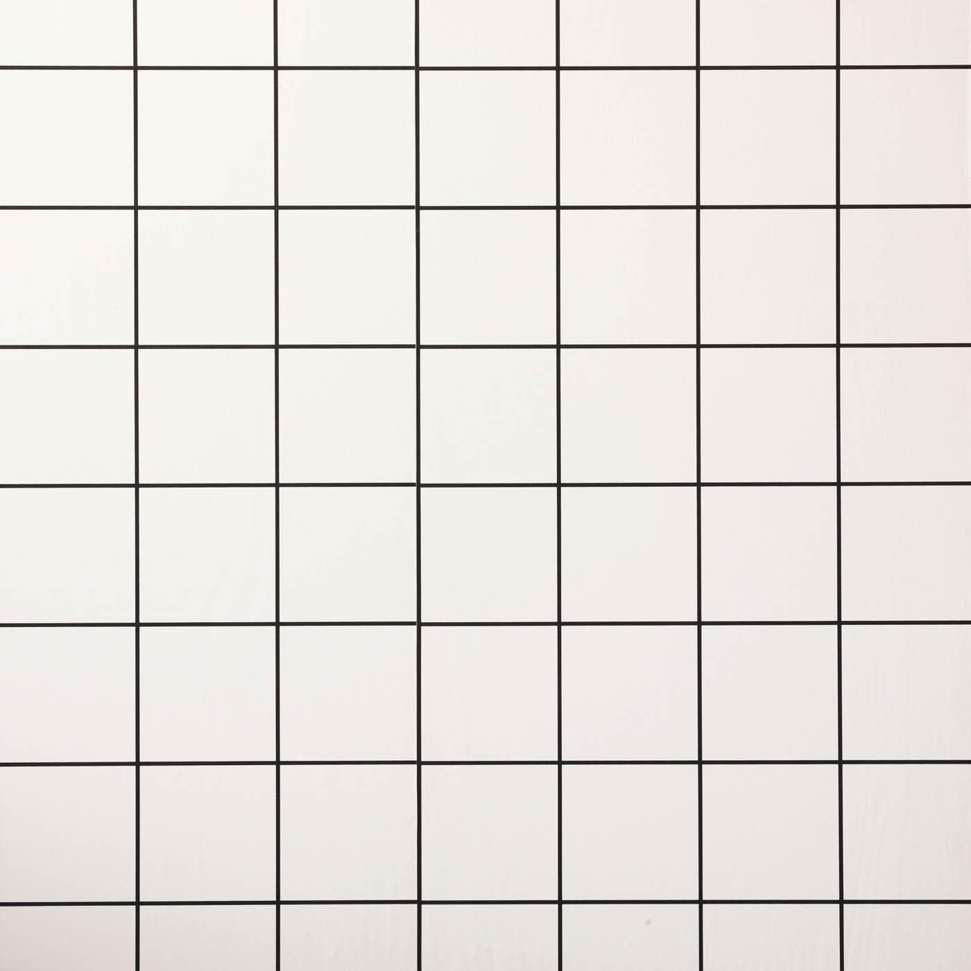 Floral Grid Wallpaper