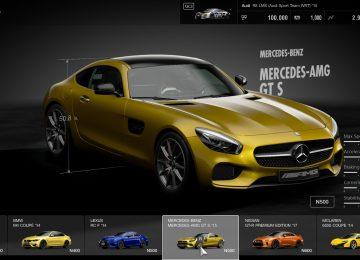 Yellow Gran Turismo