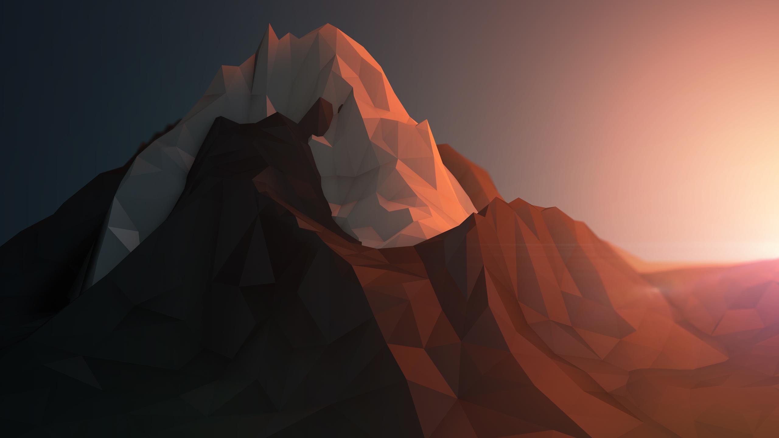 3D Polygon Wallpaper