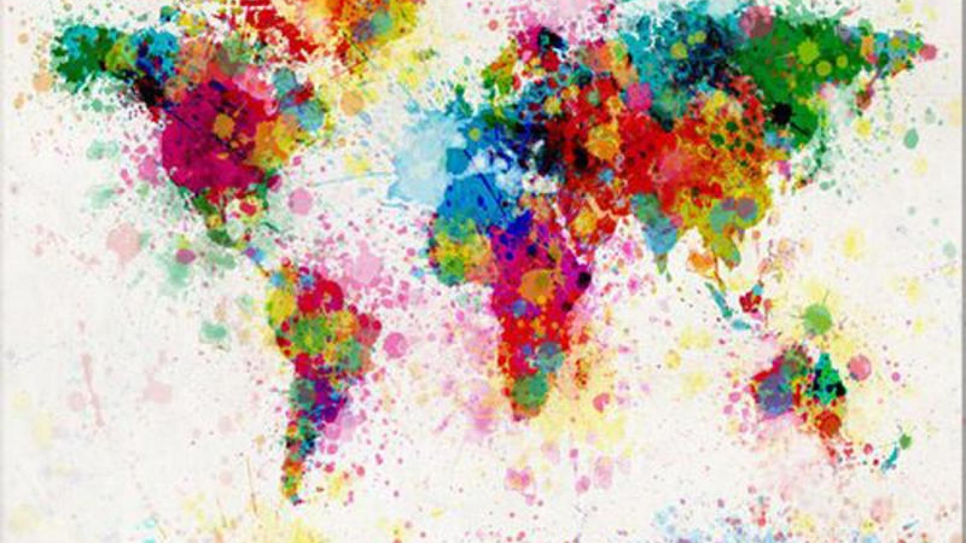 Animated Colourful Wallpaper