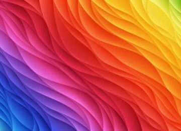 Digital Colourful Wallpaper