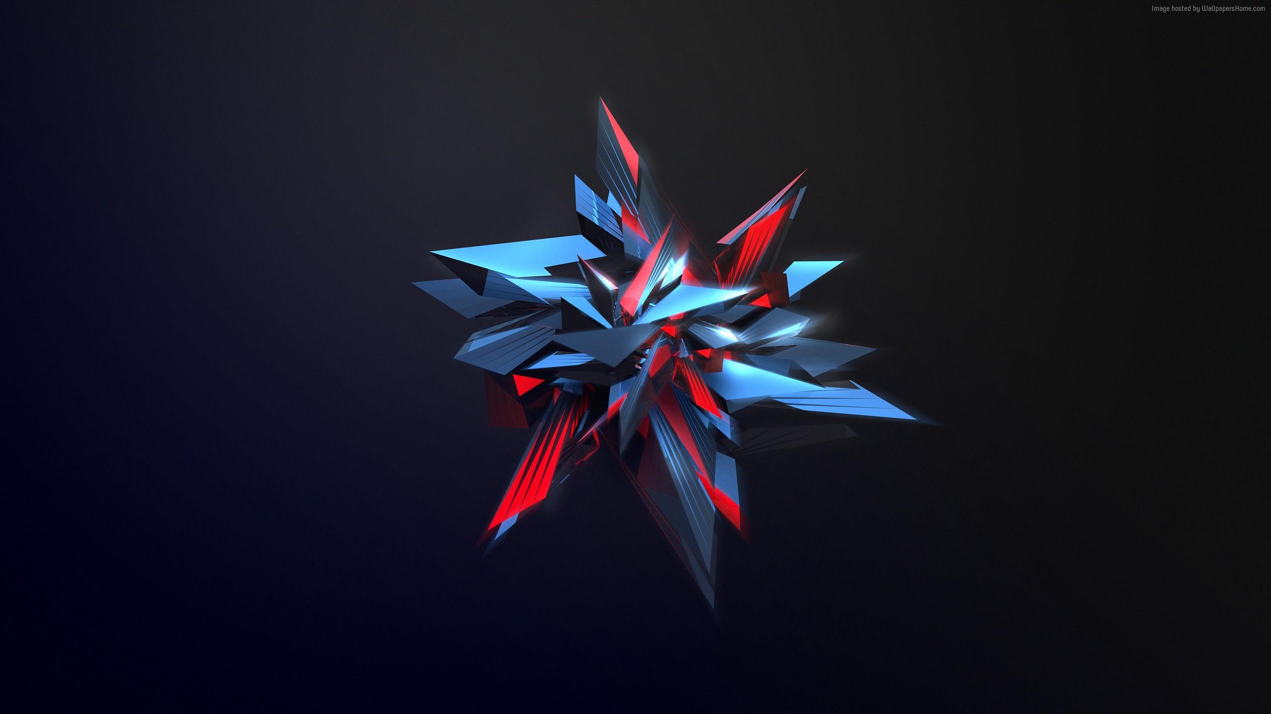 Digital Polygon Wallpaper