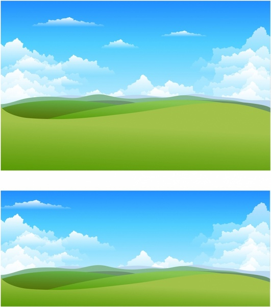 Widescreen Vector Nature