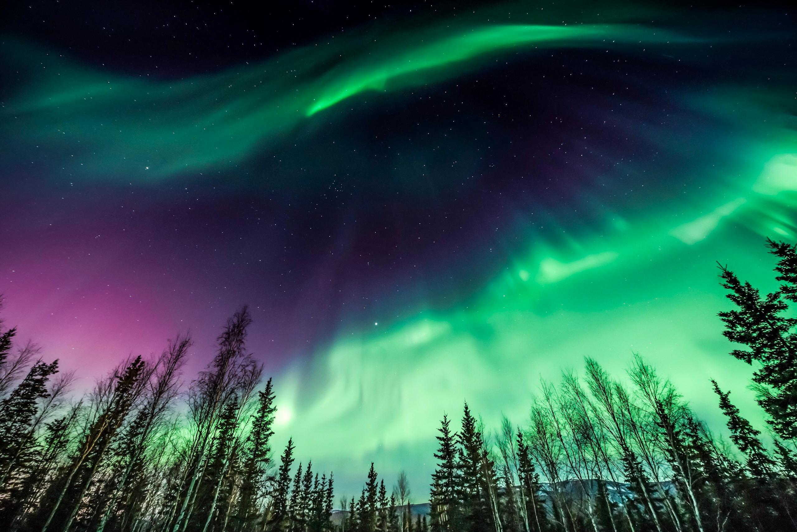 Widescreen Northern Lights