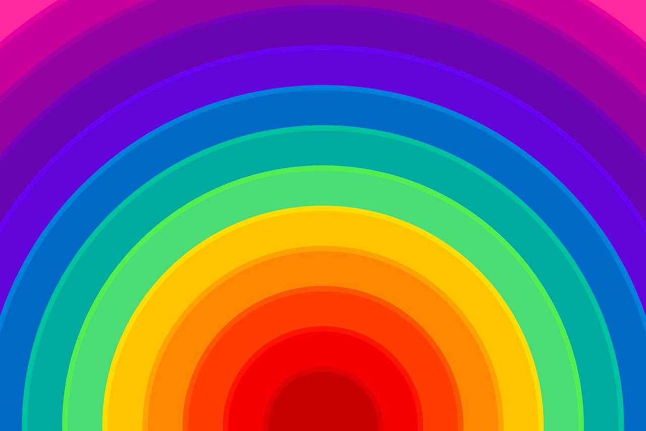 Stunning Rainbow Background