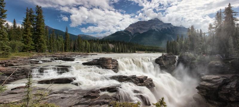 Top Athabasca Waterfalls