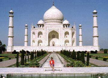 White Taj Mahal Image