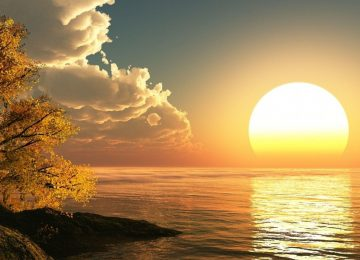 Natural Sunrise Wallpaper