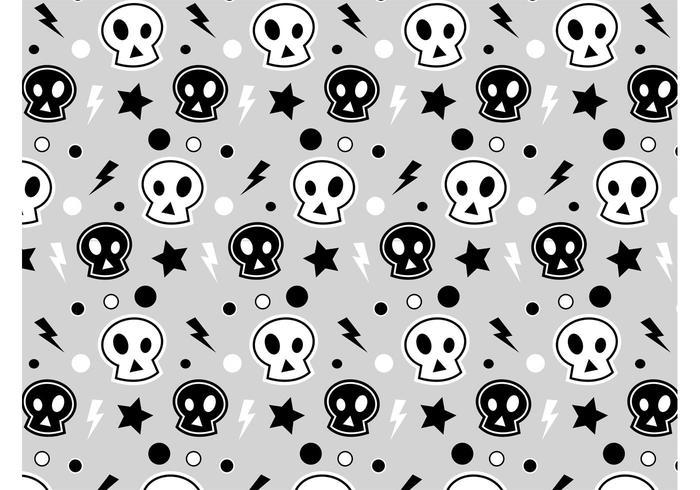 3D Skull Pattern