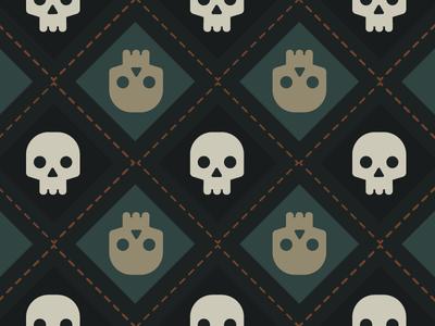 Art Skull Pattern