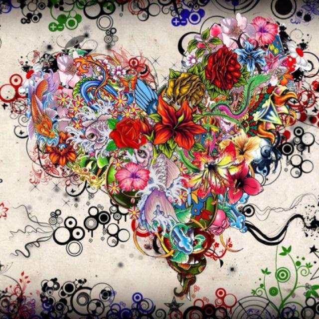 Beautiful Hearts Art