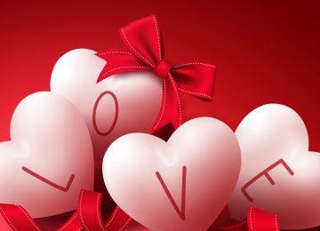 Digital Love Hearts