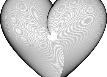 Fractal Hearts Art