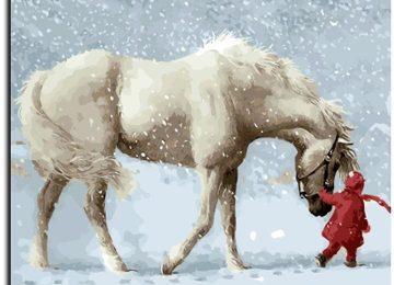 Nice White Horse