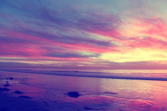 Free Pink Sunset