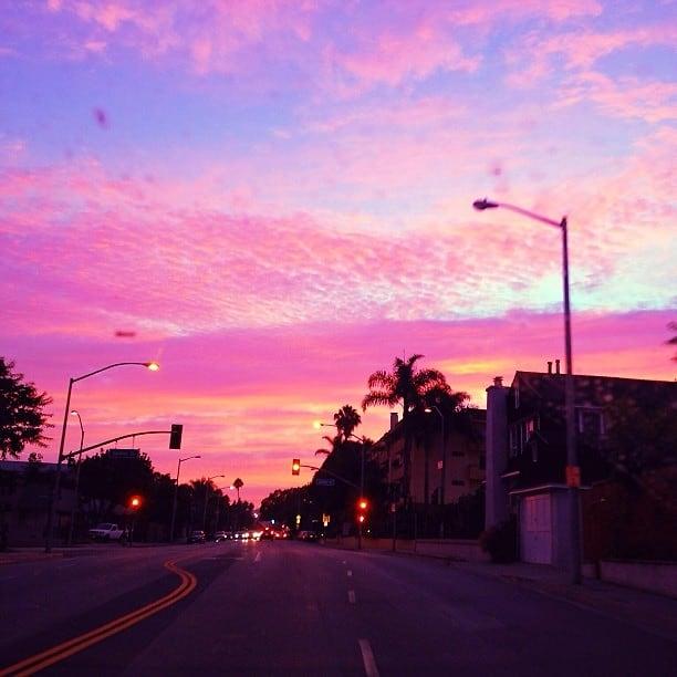 HD Pink Sunset