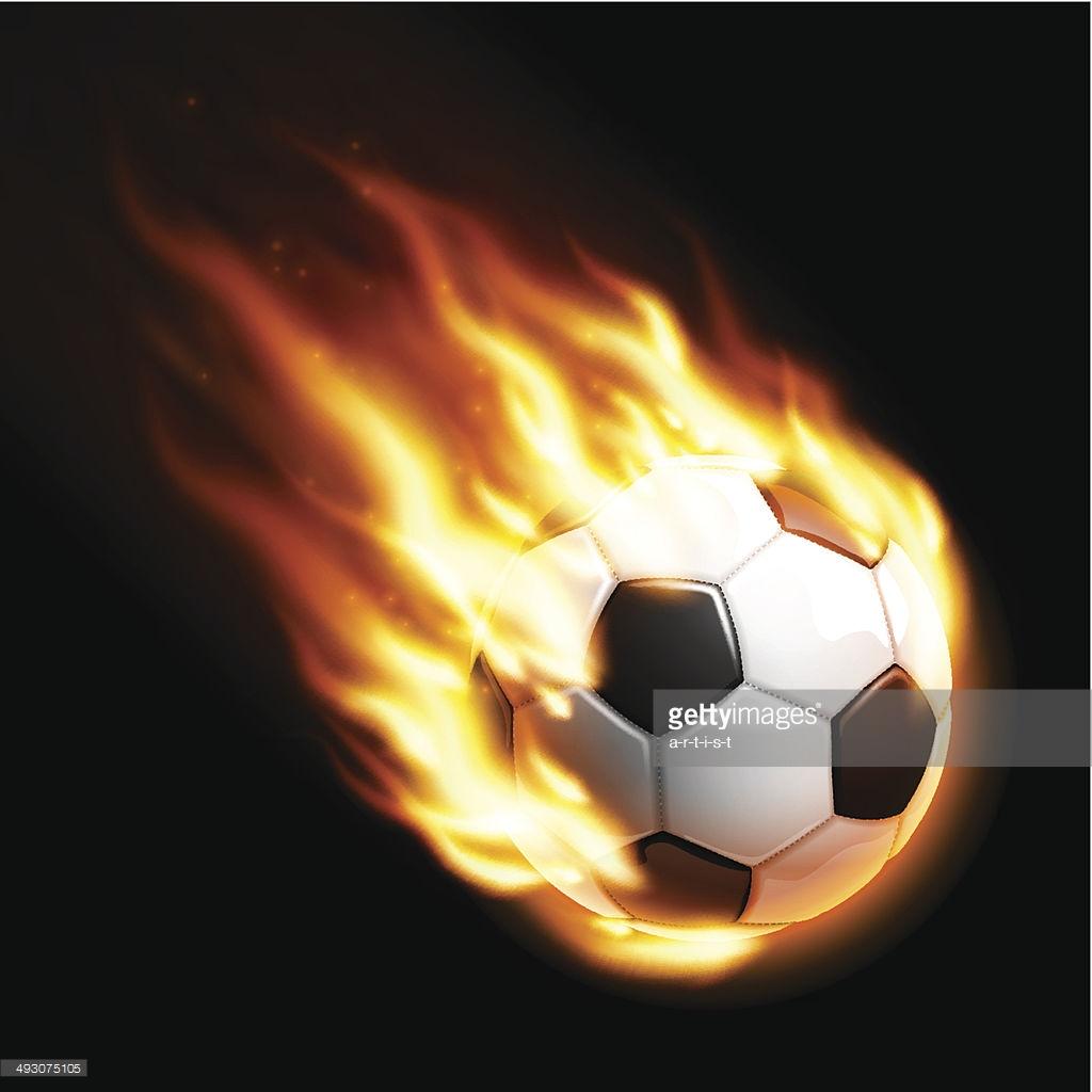 3D Burning Soccer