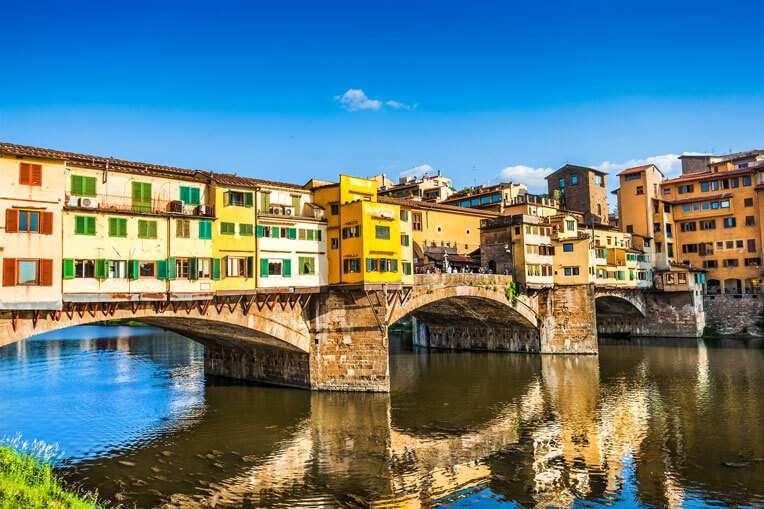 Beautiful Ponte Vecchio Bridge