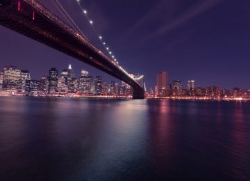 Cool Brooklyn Bridge