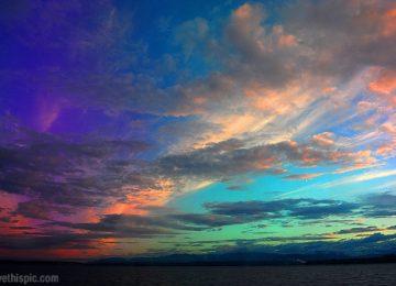 Cool Rainbow Sky