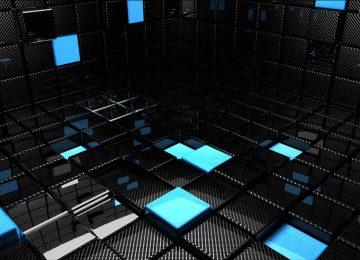 Floral 3D Cubes
