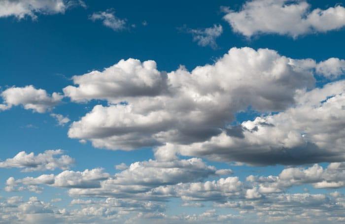 Landscape Cumulus Clouds